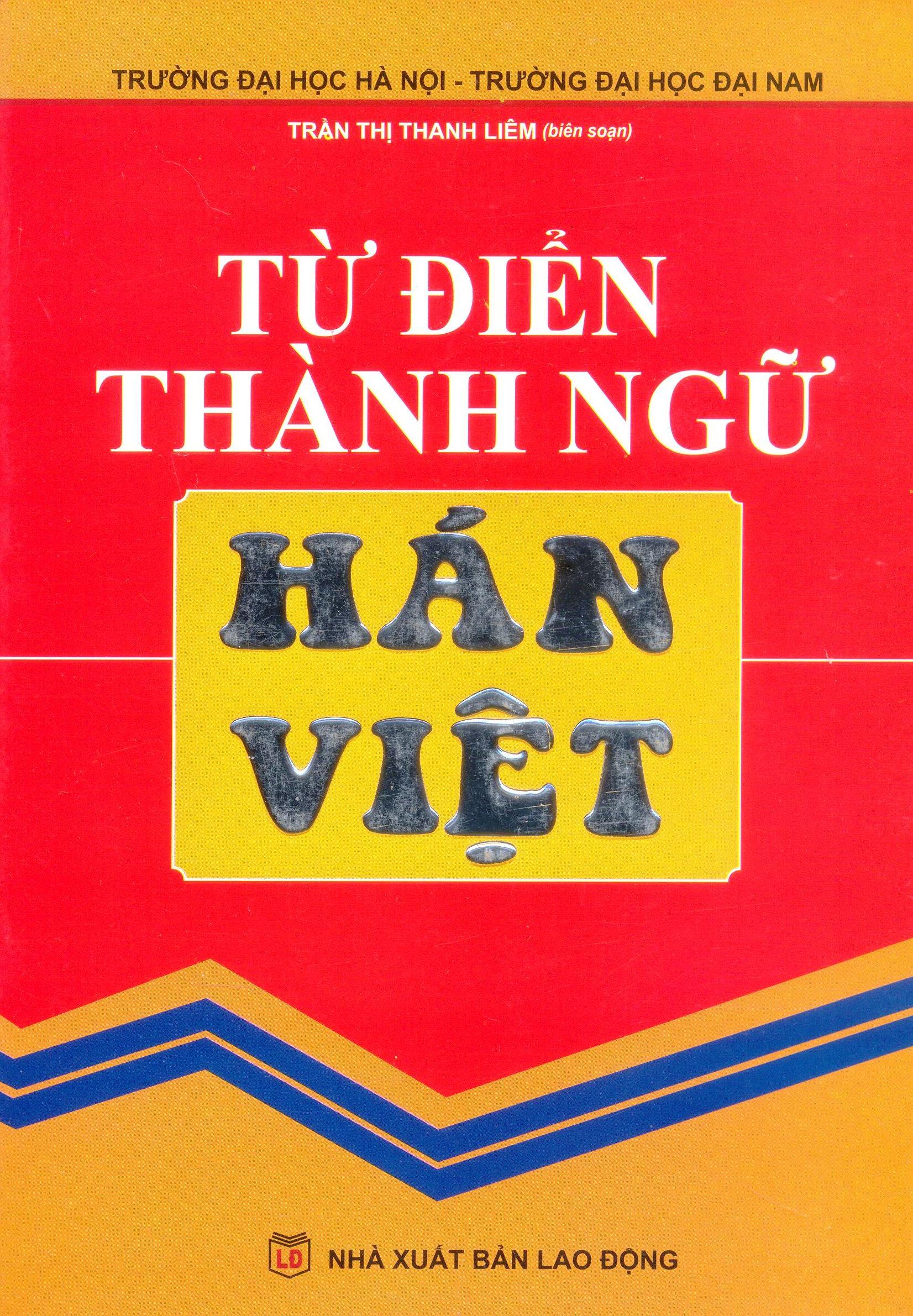 Từ Điển Thành Ngữ Hán - Việt