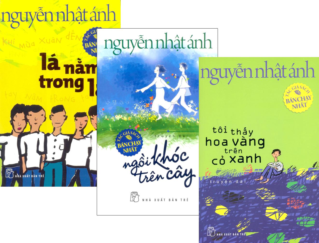 Combo Truyện Nguyễn Nhật Ánh - Lá Nằm Trong Lá (Bộ 3 Cuốn)