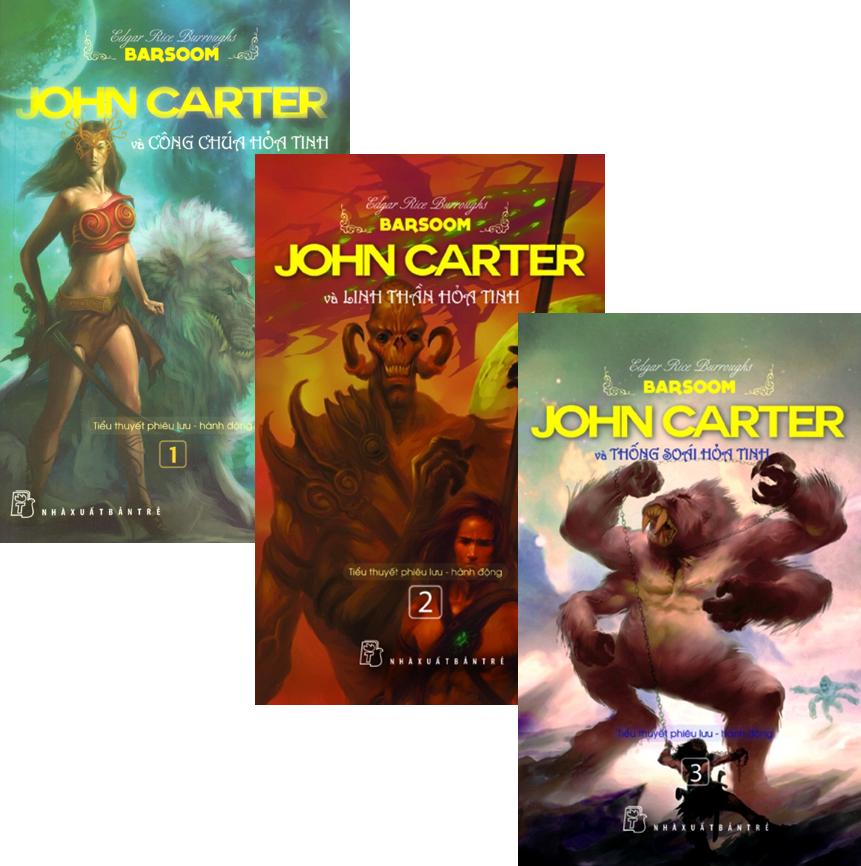 Combo Sách John Carter (Bộ 3 Cuốn)