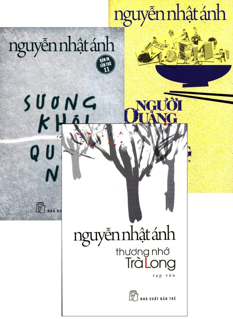 Combo Tạp Văn Của Nguyễn Nhật Ánh (Bộ 3 Cuốn)