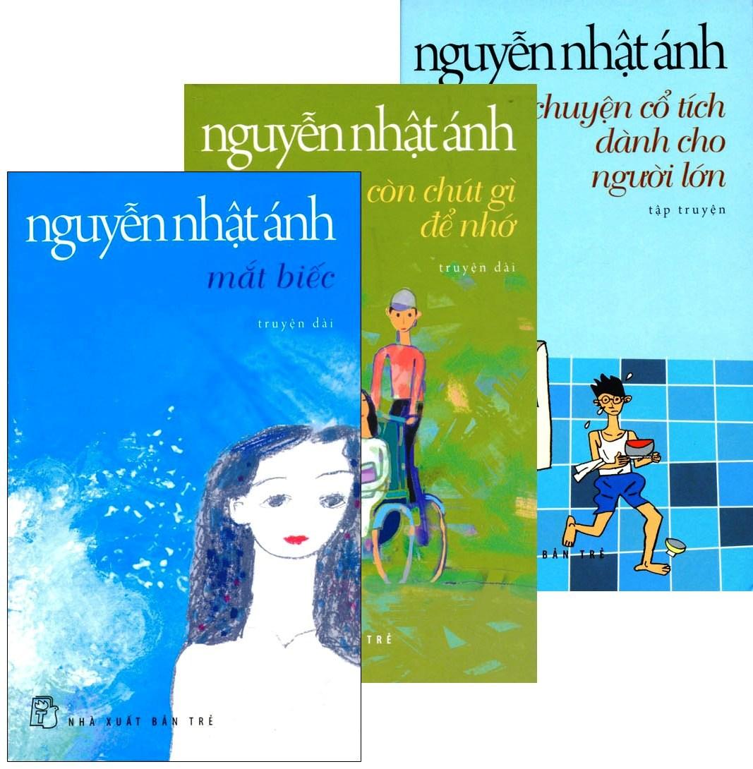 Combo Nguyễn Nhật Ánh - Mắt Biếc (Bộ 3 Cuốn)