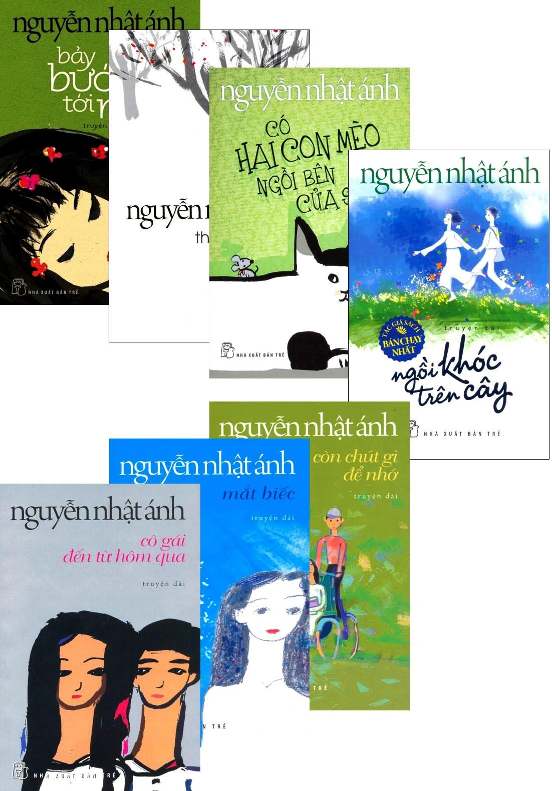 Combo Sách Nguyễn Nhật Ánh (Bộ 7 Cuốn) - Tái bản 2015