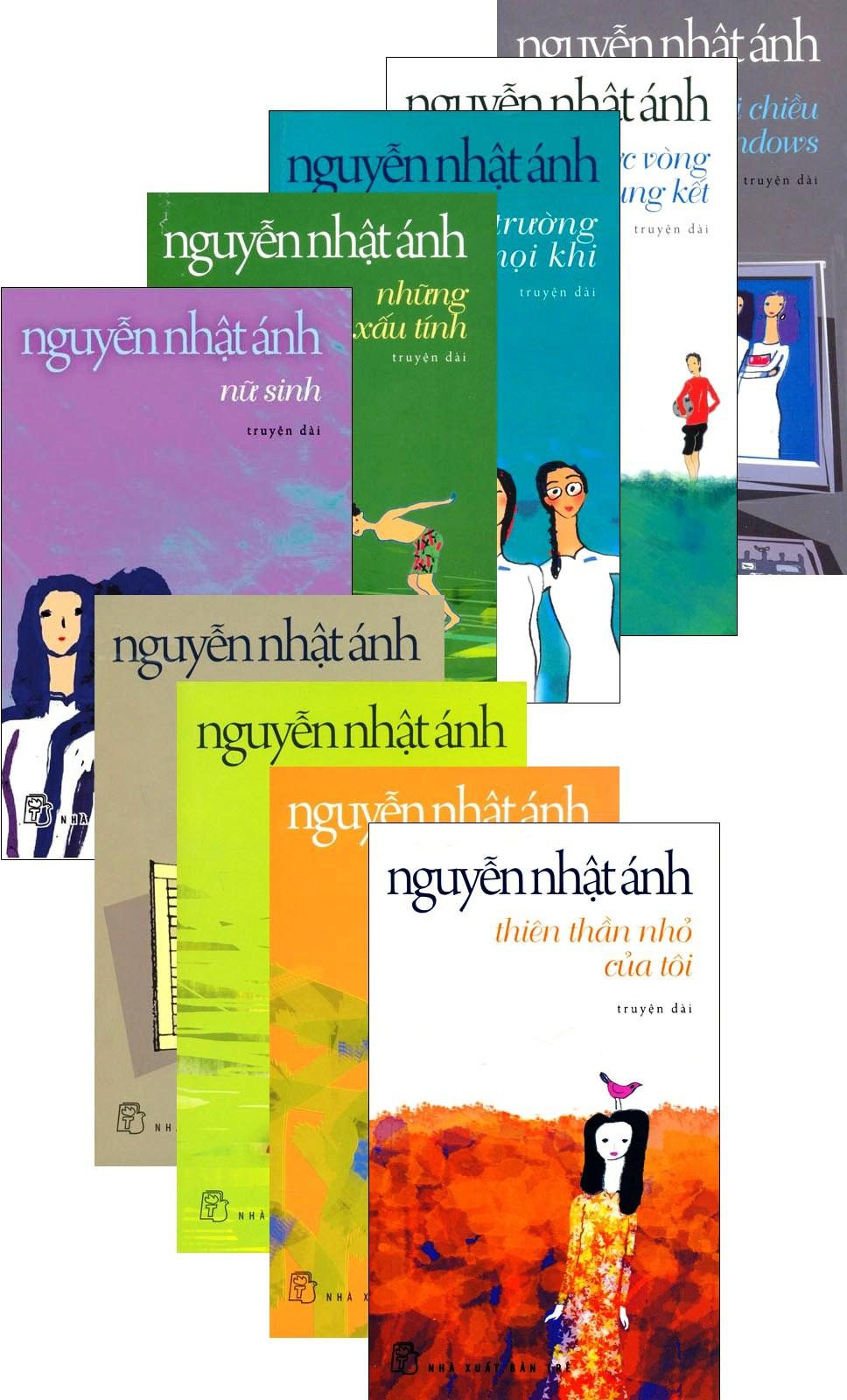 Combo Truyện Dài Của Nguyễn Nhật Ánh (Bộ 9 Cuốn)