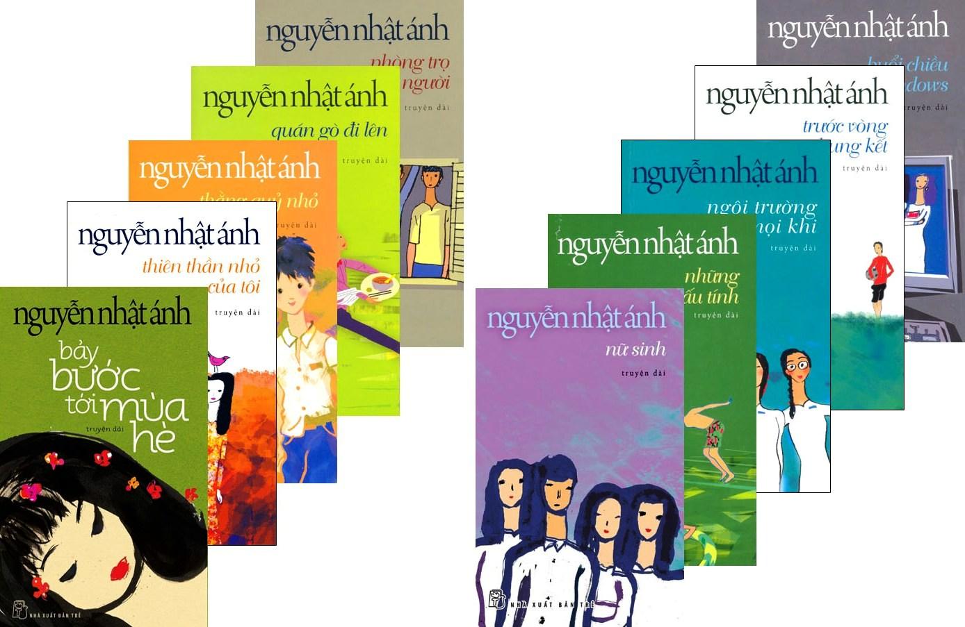 Tuyển Tập Truyện Dài Nguyễn Nhật Ánh (Bộ 10 Cuốn)