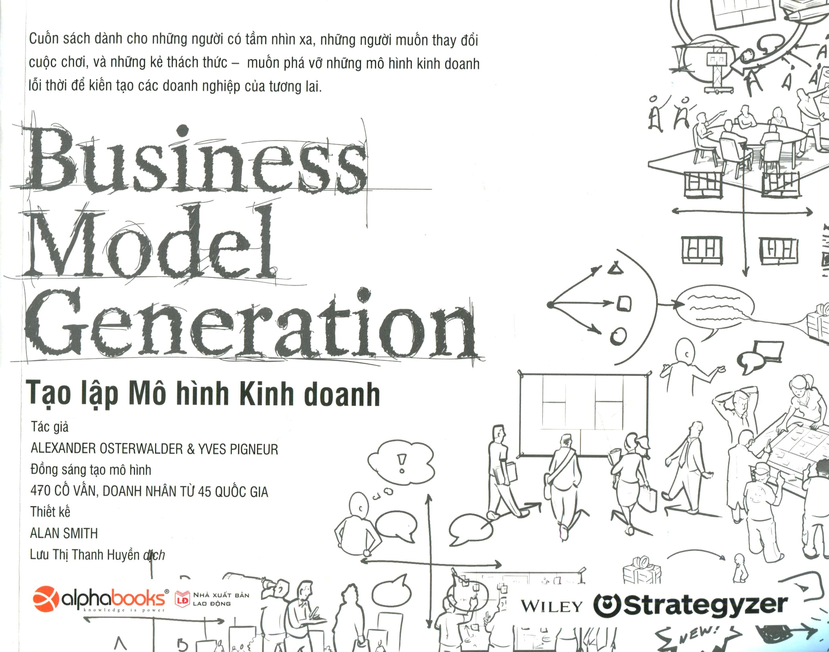 Kết quả hình ảnh cho Business Model Generation tạo lập mô hình kinh doanh