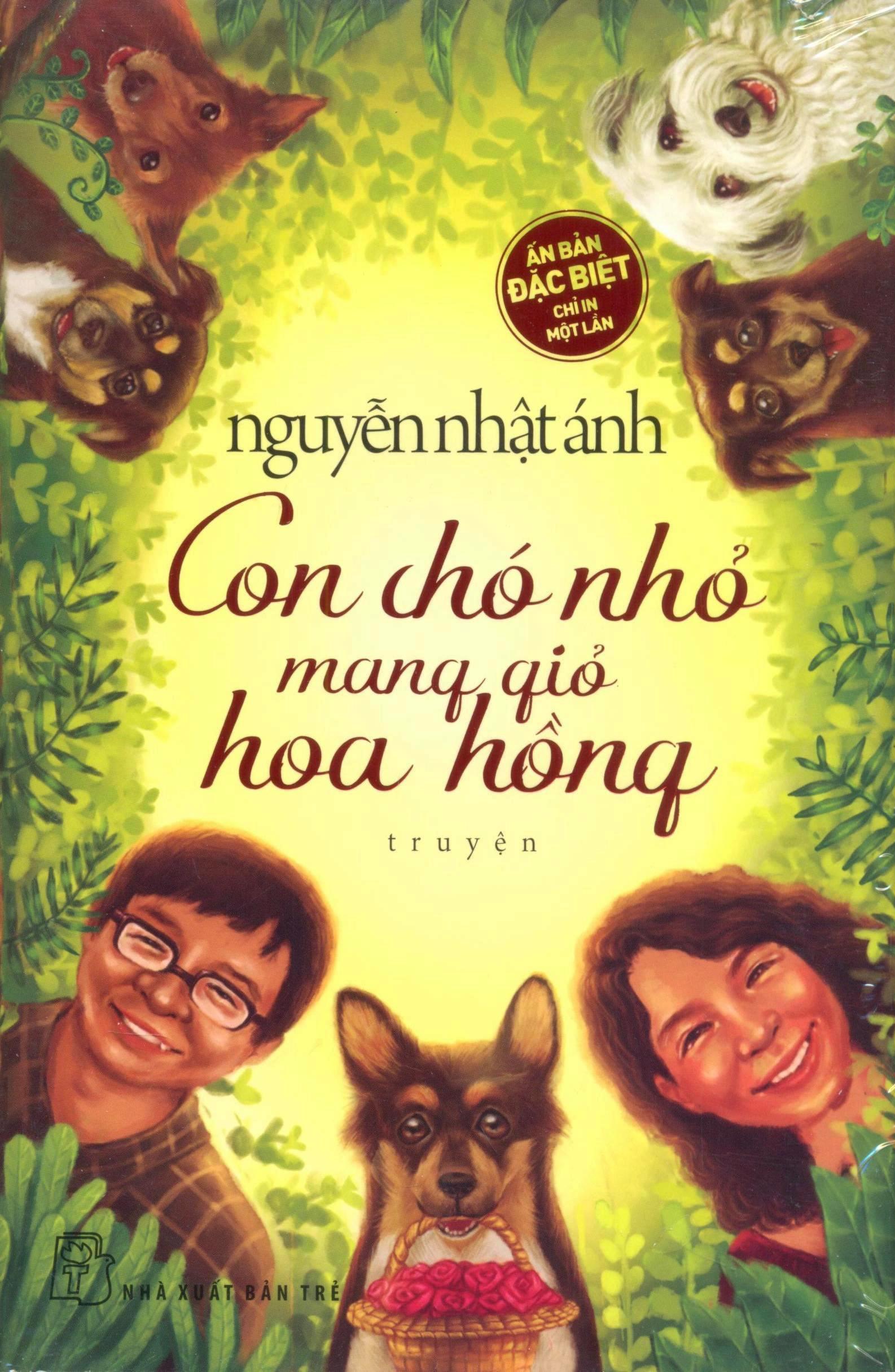 Con Chó Nhỏ Mang Giỏ Hoa Hồng (Bìa Cứng)