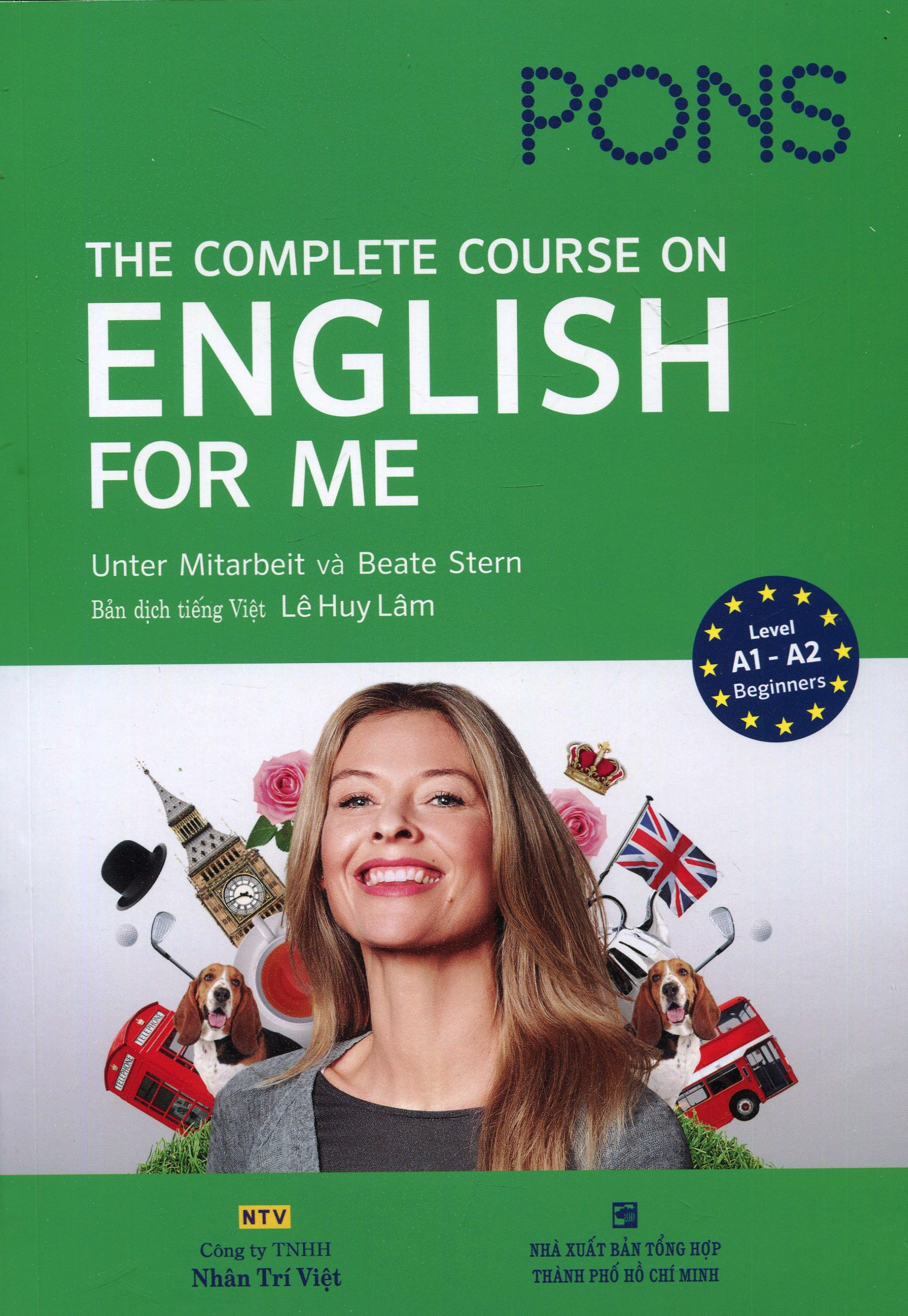Pons The Complete Course On English For Me - Level A1-A2 Beginners (Kèm 1 CD + DVD)