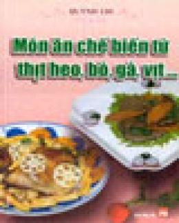 Món Ăn Chế Biến Từ Thịt Heo, Bò, Gà, Vịt....