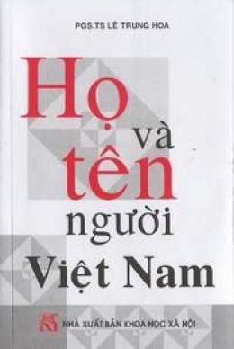 Họ và tên người Việt Nam