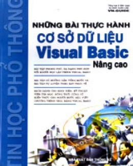 Những Bài Thực Hành Cơ Sở Dữ Liệu Visual Basic 6.0 Nâng Cao
