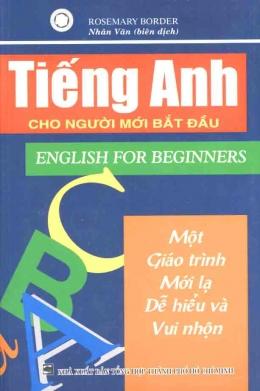 Tiếng Anh Cho Người Mới Bắt Đầu