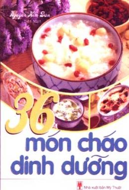 36 Món Cháo Dinh Dưỡng