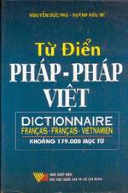 Từ Điển Pháp-Pháp-Việt