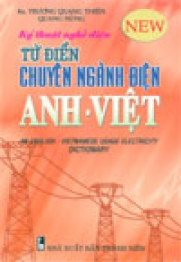 Từ điển chuyên ngành điện Anh - Việt