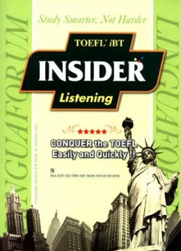 TOEFL IBT Insider Listening (Kèm 8 CD)