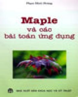Maple Và Các Bài Toán Ứng Dụng
