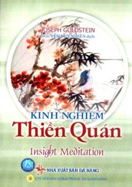 Kinh Nghiệm Thiền Quán