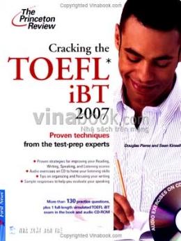 Cracking The TOEFL iBT 2007 - Dùng Kèm 1 Đĩa CD