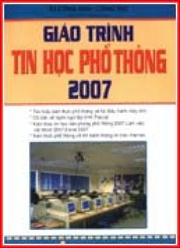 Giáo Trình Tin Học Phổ Thông 2007