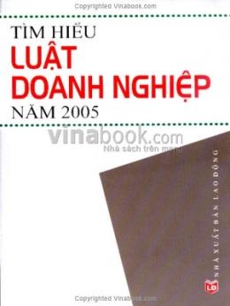 Tìm Hiểu Luật Doanh Nghiệp Năm 2005