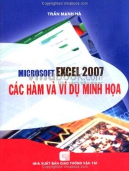 Microsoft Excel 2007 Các Hàm Và Ví Dụ Minh Hoạ