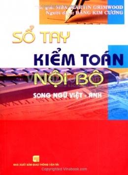 Sổ Tay Kiểm Toán Nội Bộ - Song Ngữ Việt Anh