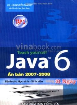Tự Học Java 6 Trong 21 Ngày - Tập 1