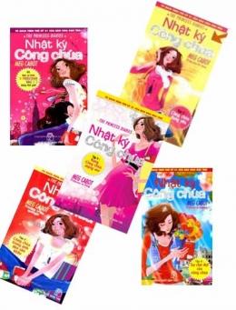 Nhật Ký Công Chúa (Trọn Bộ 5 Tập) Tủ Sách Teen Thế Kỷ 21 Của Báo Hoa Học Trò (Tặng Kèm 5 Thẻ Học Trực Tuyến E-school Trị Giá 50.000/Thẻ Khi Mua Sách)