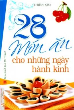 28 Món Ăn Cho Những Ngày Hành Kinh