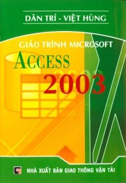 Giáo Trình Microsoft Access 2003