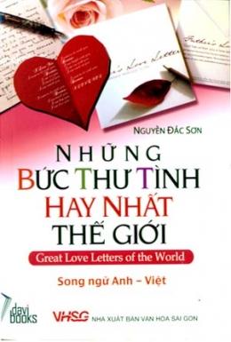Những Bức Thư Tình Hay Nhất Thế Giới (Song Ngữ Anh - Việt)