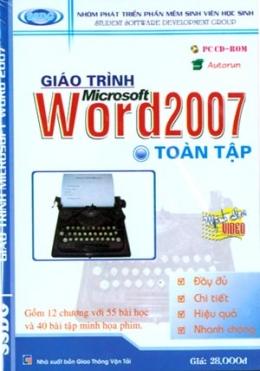 Đĩa CD - Giáo Trình Microsoft Word 2007 (Toàn Tập)