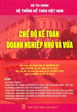 Hệ Thống Kế Toán Việt Nam - Chế Độ Kế Toán Doanh Nghiệp Nhỏ Và Vừa