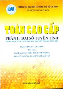 Toán Cao Cấp Phần I: Đại Số Tuyến Tính (Dành Cho Sinh Viên Đại Học Chuyên Ngành Kinh Tế)