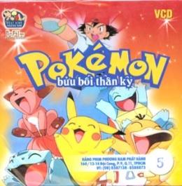 Pokémon Bửu Bối Thần Kỳ - Phim Hoạt Hình Nhật Bản - Phần 1 (Tập 5 - VCD)