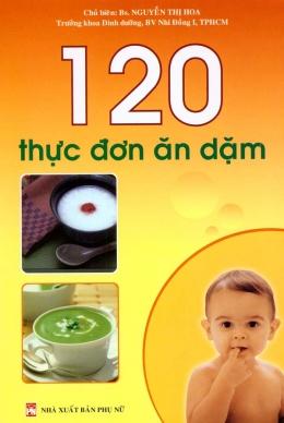 120 Thực Đơn Ăn Dặm