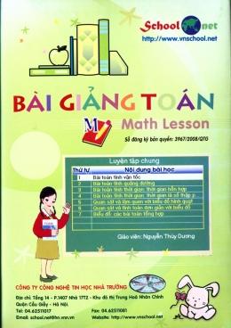 Bài Giảng Toán - Math Lesson (CD)