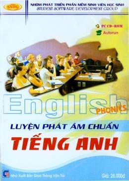 English Phonics - Luyện Phát Âm Chuẩn Tiếng Anh (CD)