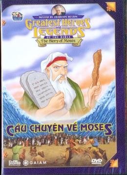 Câu Chuyện Về Moses - DVD