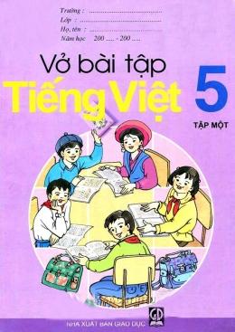 Vở Bài Tập Lớp 5 - Trọn Bộ 12 Cuốn