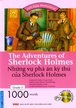 Những Vụ Phá Án Kỳ Thú Của Sherlock Homes (Kèm 1 CD)