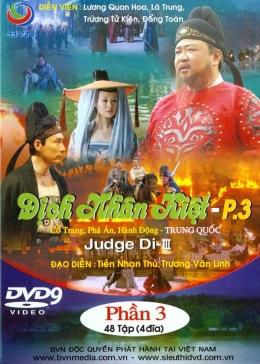 Địch Nhân Kiệt 3 - Phim Trung Quốc (Trọn Bộ 48 Tập/ 4 Đĩa DVD9)