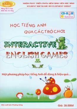 Học Tiếng Anh Qua Các Trò Chơi - Interactive English Games (CD-ROM)