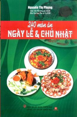 240 Món Ăn Ngày Lễ Và Chủ Nhật