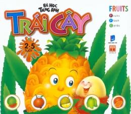 Bé Học Tiếng Anh - Trái Cây (2 - 5 Tuổi) - Thẻ Giấy