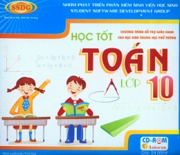 CD-ROM Học Tốt Toán Lớp 10