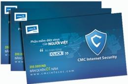 Phần Mềm Diệt Virus Của Người Việt - CMC Internet Security (200.000 VND Bản Quyền 01 Năm)
