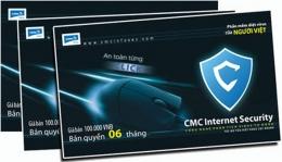 Phần Mềm Diệt Virus Của Người Việt - CMC Internet Security (100.000 VND Bản Quyền 06 Tháng)