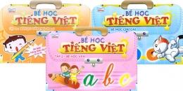 Bé Học Tiếng Việt - Trọn Bộ 3 Cuốn