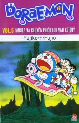 Doraemon - Vol.5 - Nobita Và Chuyến Phiêu Lưu Vào Xứ Quỷ